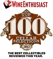 Wine enthusiast cellar selection
